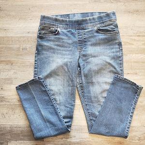 Levis pull on elastic high waist skinny  10S
